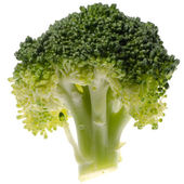 Broccoli isolated on white — Stock Photo