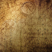 Chinese ancient culture grunge background — Stock Photo