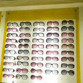 Glasses for sale — Stock Photo