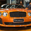 Bentley Continental Supersports car on display - Stok fotoğraf