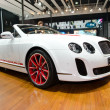 Bentley Continental Supersports ISR car on display — Stok fotoğraf