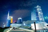 Guangzhou city night landscape — Stock Photo