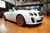 Bentley continental supersports isr voiture sur écran — Photo