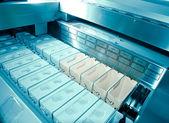 医療科学機器 chromatank 染料タンク — ストック写真