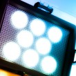 Photography led lamp - Stock Photo