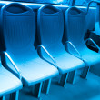 City bus seat — Stock Photo