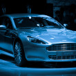 Stock Photo: Aston Martin Rapide sport car