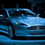 Постер, плакат: Aston Martin Rapide sport car