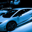 Lamborghini Gallardo LP 570-4 Superleggera sport car on display — Stock Photo