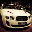 Stock Photo: Bentley Continental Supersports ISR car on display