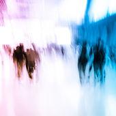 City business crowd — Stock Photo