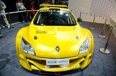 Renault Megane Trophy car on display — Stock Photo