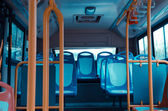 City bus seat — Stock Photo