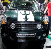 Mini Countryman car on display — Stock Photo