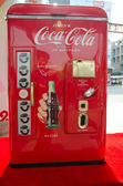 Design works on show at CocaCola Creative Design Exhibition — Stock Photo