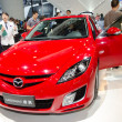 Mazda 6 car on display — Stock Photo