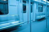 Metro interior — Stock Photo