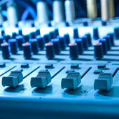 Equipo de estudio de sonido — Foto de Stock