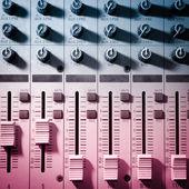 Geluidsstudio apparatuur — Stockfoto