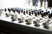 Attrezzature audio studio — Foto Stock