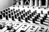 Sound studio equipment — Stock Photo