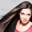 Long shiny hair — Stock Photo