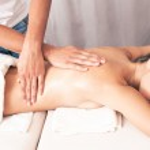 Back massage — Stock Photo #13828500