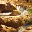 Stock Photo: River cascades