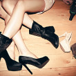 Legs and shoes — Stock Photo #18360901