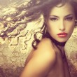 Fantasy beauty - Foto Stock