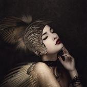 Anjo de batalha — Foto Stock