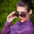 Sunglasses portrait — Stock Photo