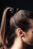 Ponytail — Stock Photo