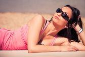 Ciesz się słońcem — Zdjęcie stockowe