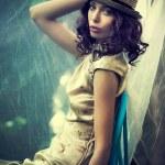 Summer elegant woman — Stock Photo #26416383