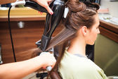 Hairstyling — Stock Photo