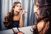 Woman makeup — Stock Photo