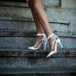 high heel shoes — Stock Photo