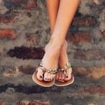 Summer slippers — Stock Photo #28335857