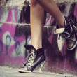 High heels sneakers — Photo