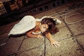 Fallen angel — Stock Photo