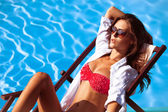 Sunbath — Stock Photo