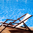Deck chair — Stock Photo #30768971