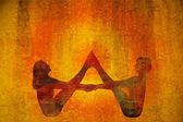Yoga symbol — Stock Photo
