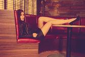 Kız moda — Stok fotoğraf