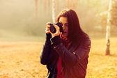 Take photo — Stock Photo