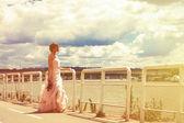 Bride portrait — Stok fotoğraf