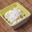 Stock Photo: Mascarpone cheese