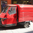 Red Ape Van — Stock Photo