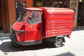 Red Ape Van — Stock Photo